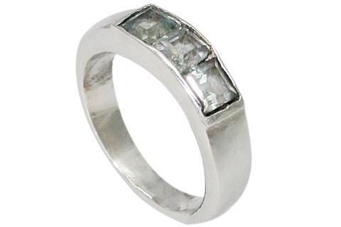 Design 9561: white crystal rings