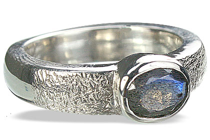 Design 9975: green,gray labradorite mens rings