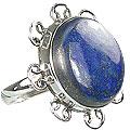 Design 15958: blue lapis lazuli contemporary rings